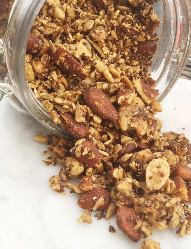 Fat Fueled Recipe: Grain Free Granola