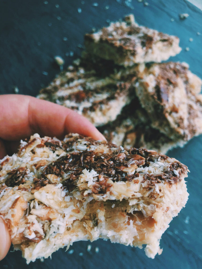 Fat Fueled Recipe: Toasted Coconut Bars