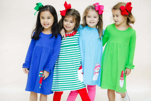 Applique Girl's Holiday Dresses