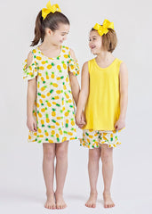 Pineapples Girl's Short Set and Dress