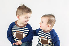 Matching boys football outfits Boys Monogram Outfit