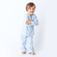 Blue Stripes Boy's Loungewear