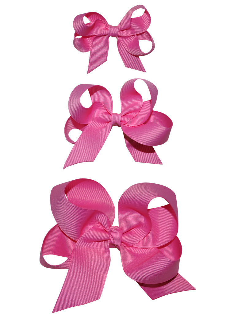 large Pink Girls Hairbow