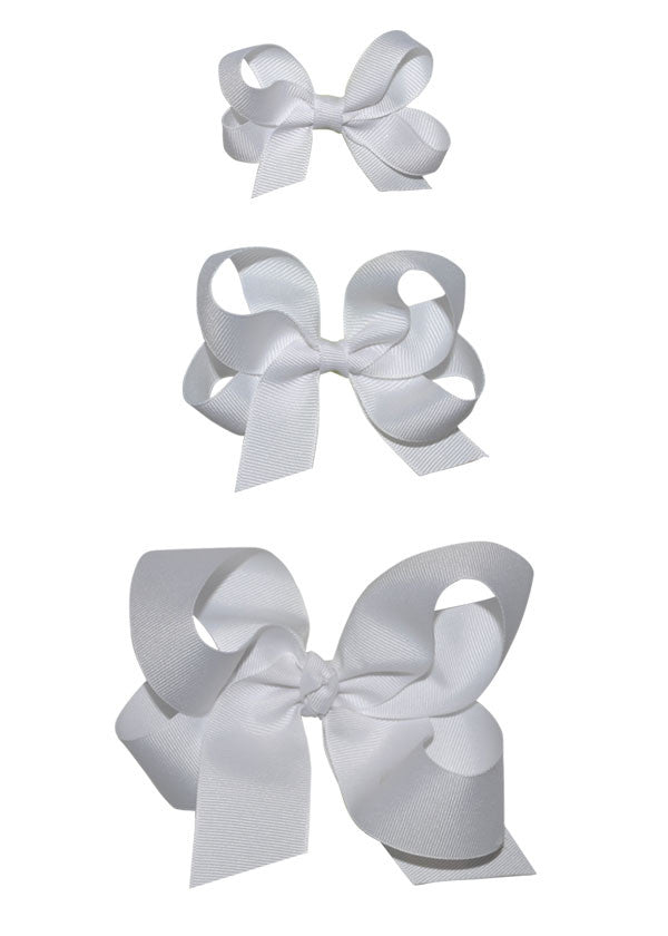 Girls white Hairbow