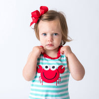 31S20 Applique Crab Girl's Bubble