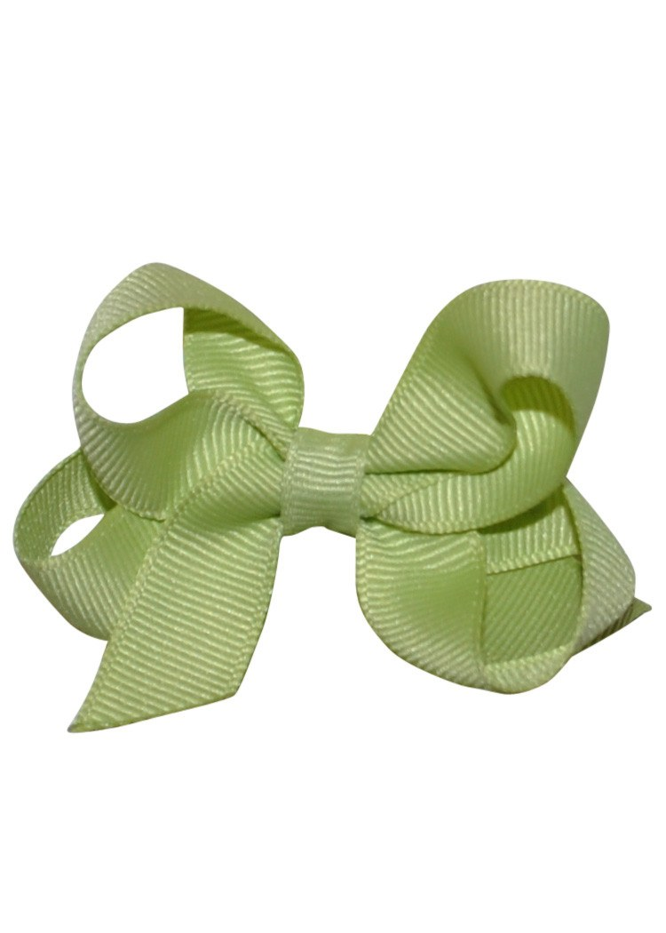 Boutique Hairbow Small Light Green