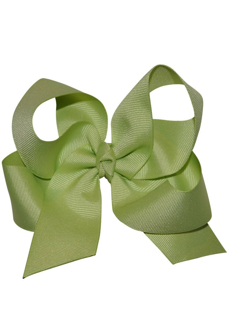 Boutique Hairbow Large - Light Green