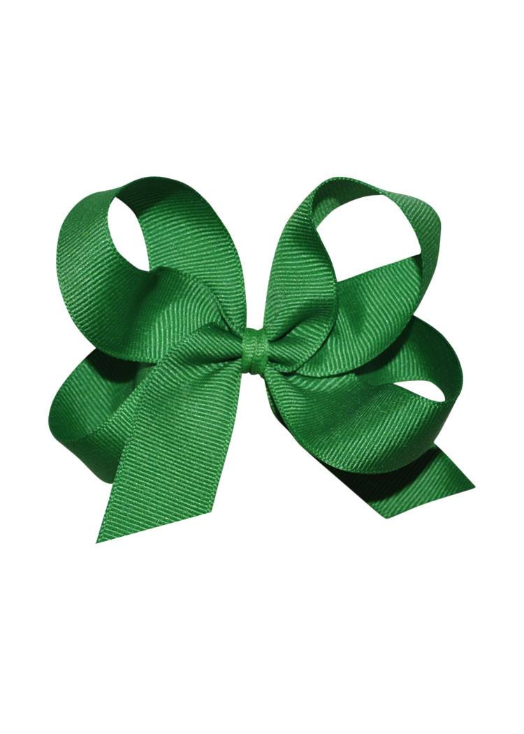 Green Medium Hairbow Boutique Style