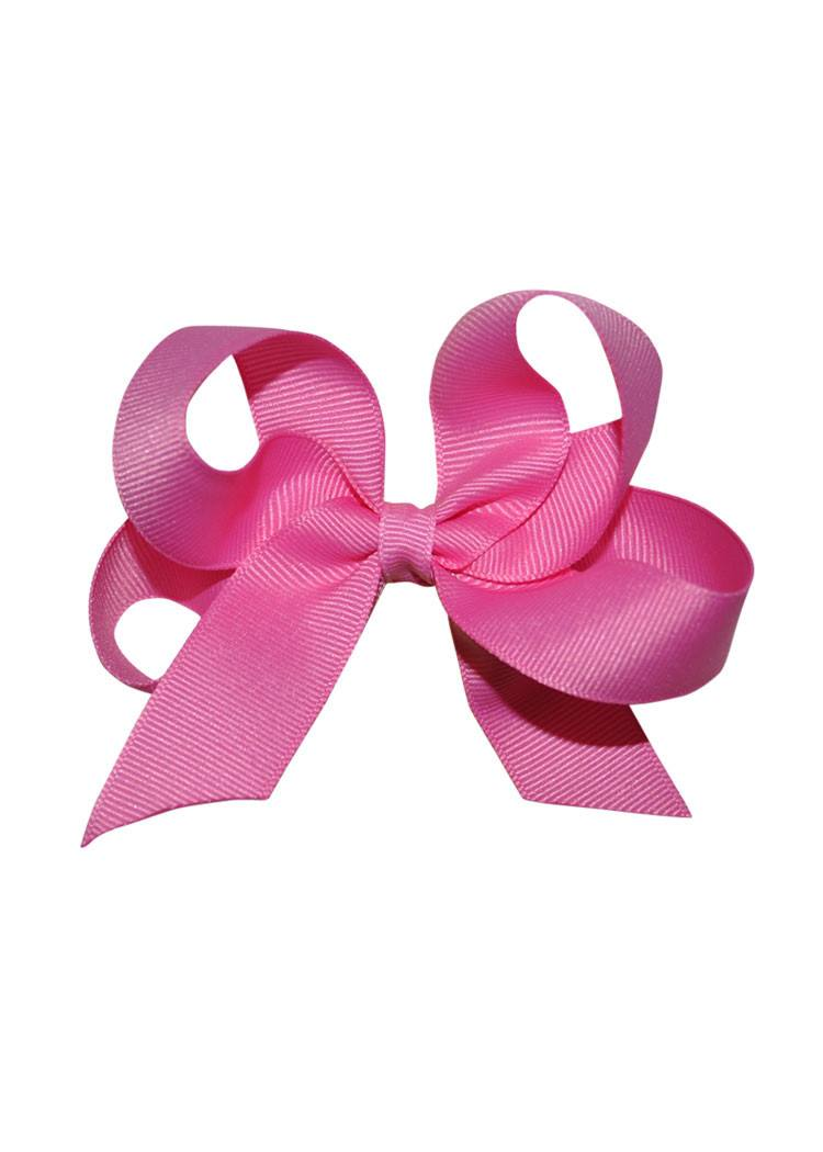 Fuschia Medium Hairbow Boutique Style