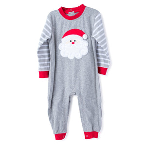 Christmas Pajamas with Applique Santa