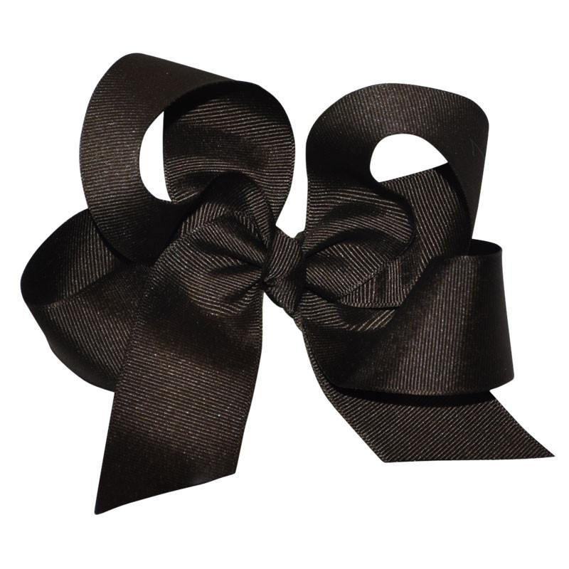 Brown Large Hairbow Boutique Style