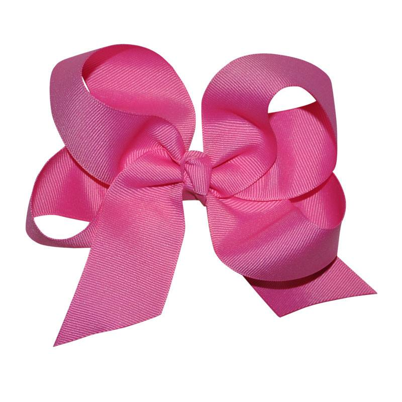 Fuscia Large Hairbow Boutique Style