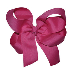 Hot Pink Large Hairbow Boutique Style