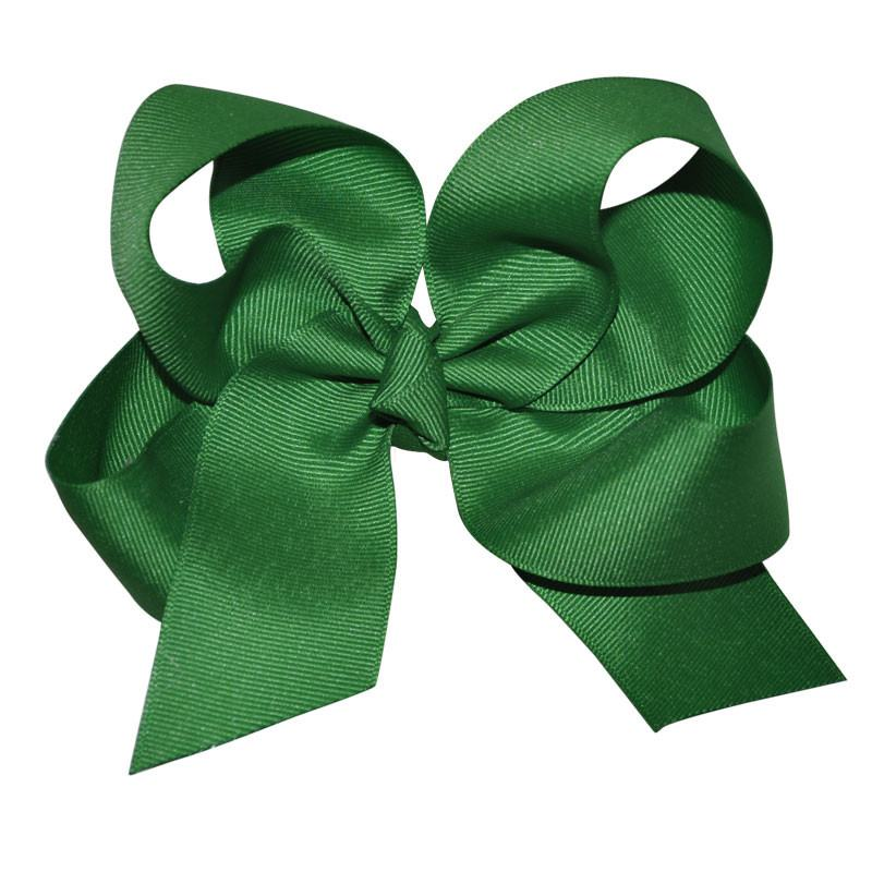 Green Large Hairbow Boutique Style