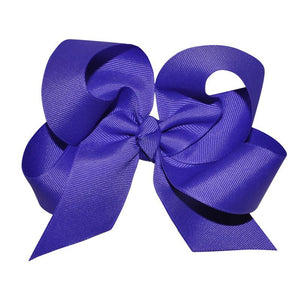 Purple Large Hairbow Boutique Style