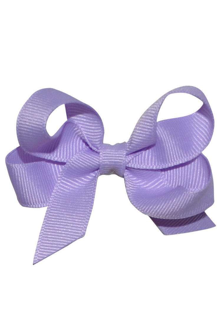 Boutique Hairbow Small Lavender