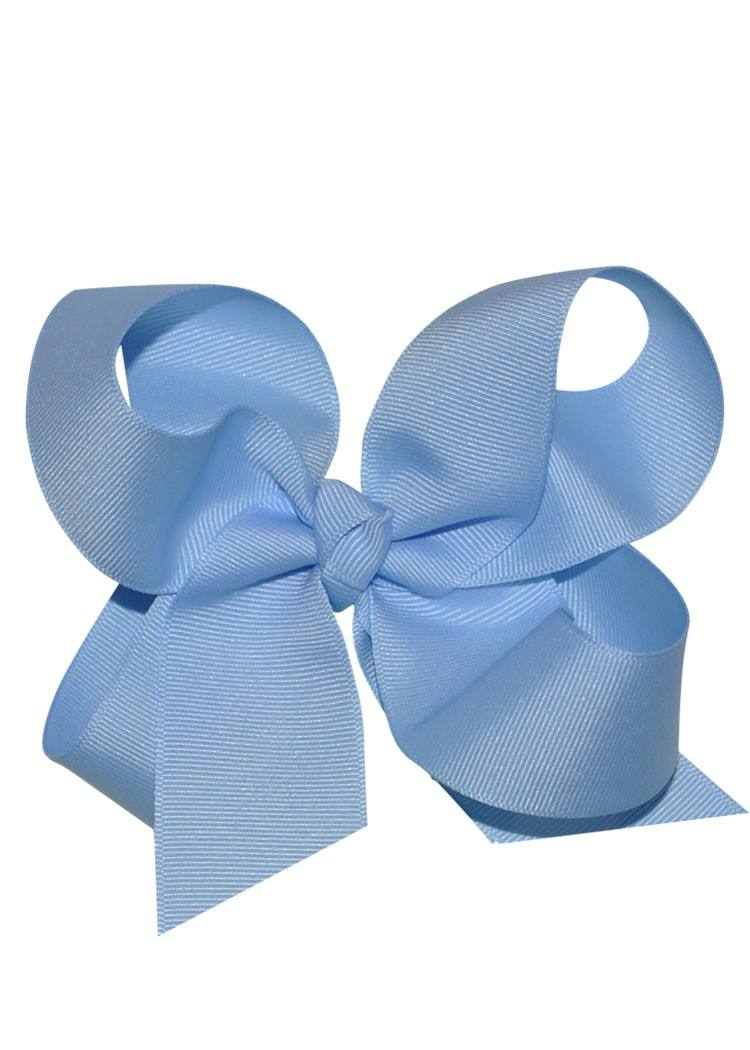 Boutique Hairbow Large - Light Blue