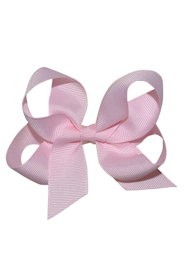 Boutique Hairbow Small Light Pink