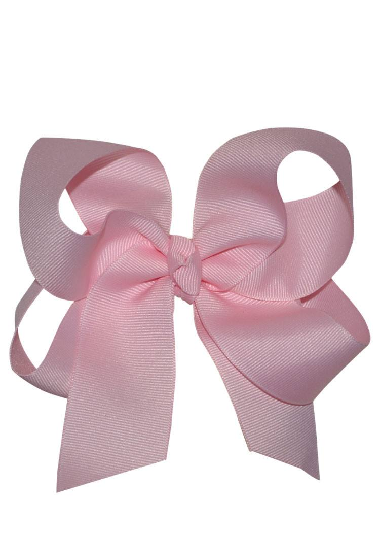 Boutique Hairbow Large - Light Pink