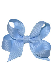 Boutique Hairbow Small Light Blue