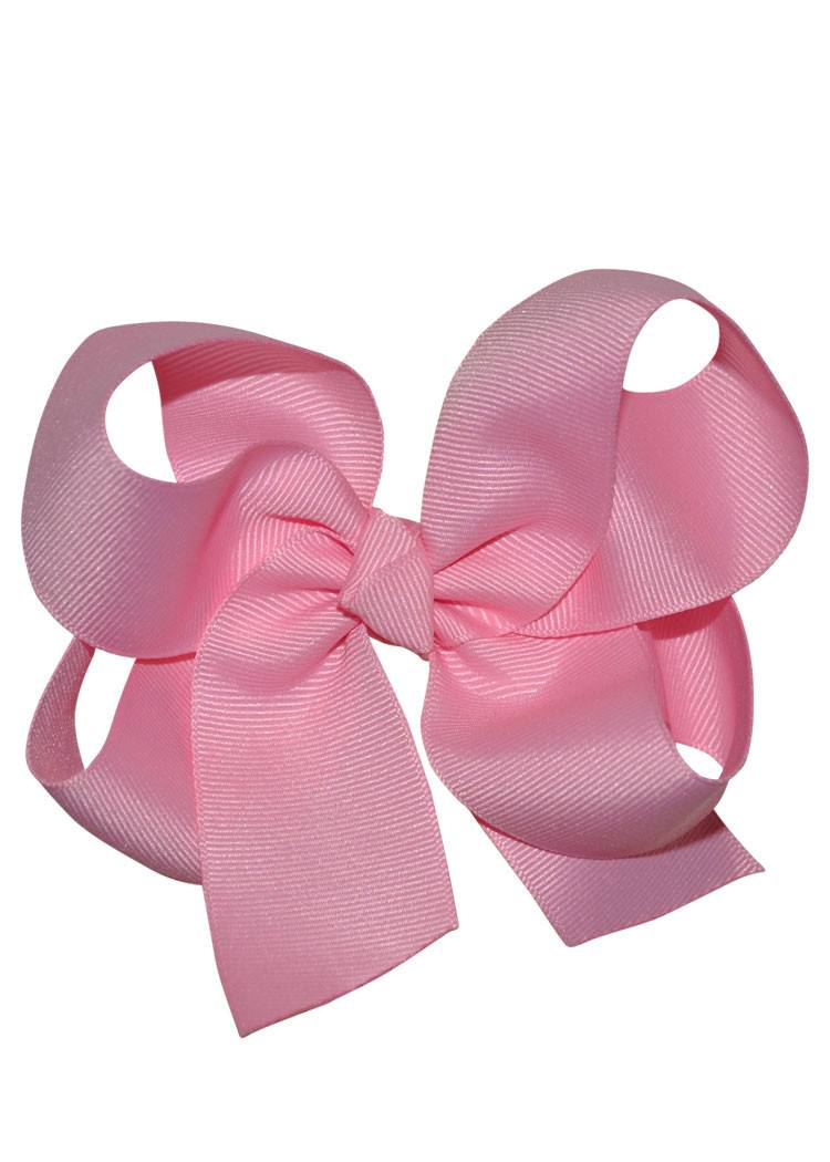 Boutique Hairbow Large - Pink