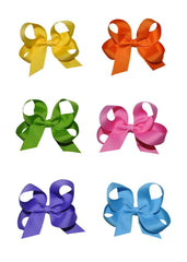Medium Hairbow Boutique Style Many Colors