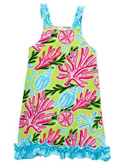 Tropical Girl's Sundress