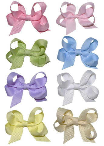 Hairbow Pastel Colors - Small