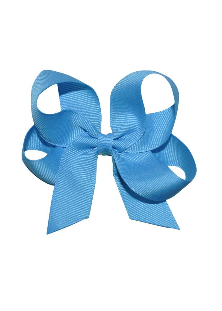 Turquoise Medium Hairbow Boutique Style