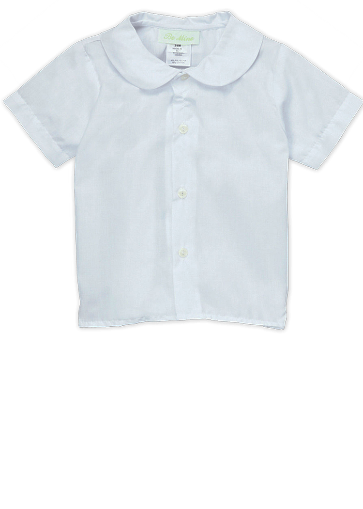 Peter Pan Collar Boy's Shirt