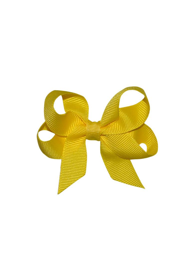 Hairbow Boutique Small Yellow