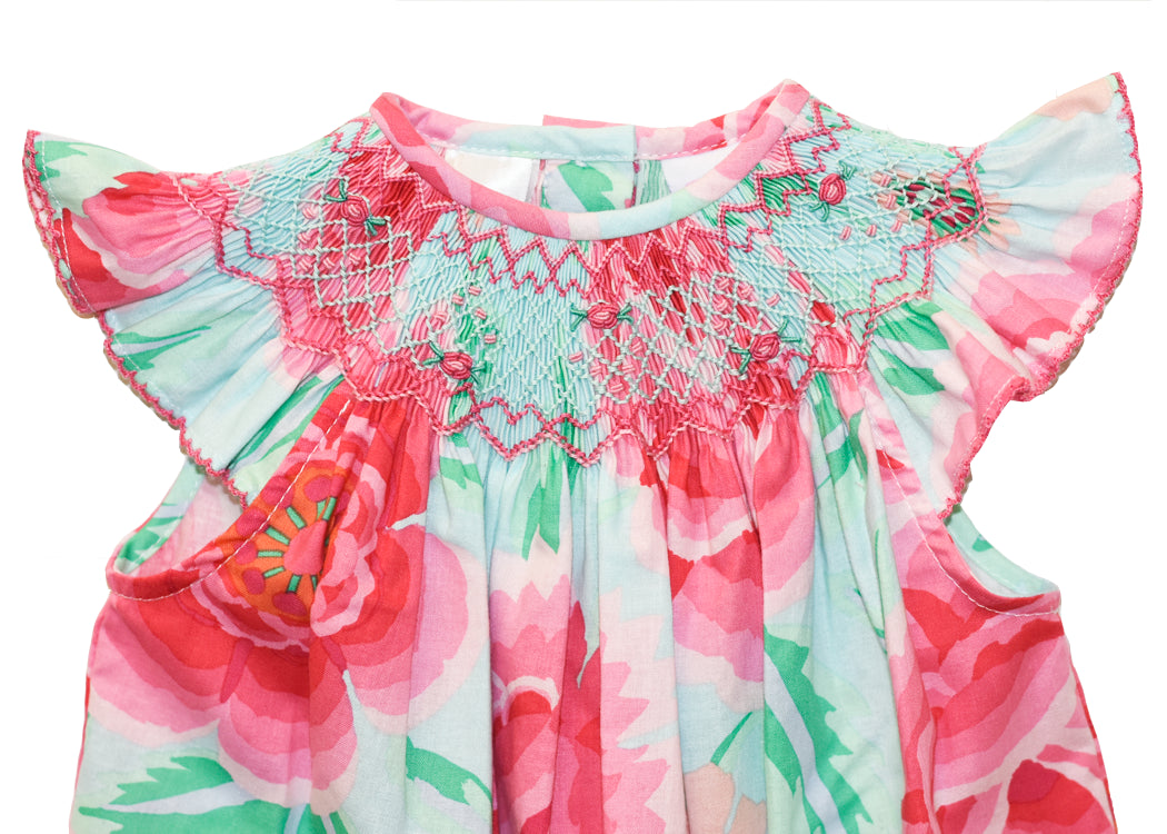 Girls Geometric Summer Dress