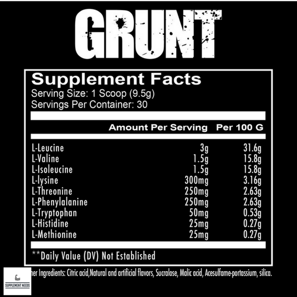 Redcon1 Grunt - 285g - 30 servings