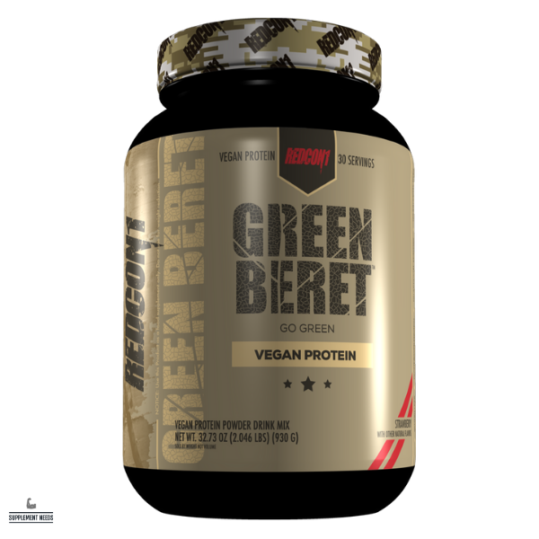 Redcon1 Green Beret Vegan Protein - 930g to 1050g