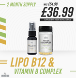 Supplement Needs Advanced B Complex and Lipo B12 Stack