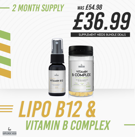Supplement Needs Liposomal Vitamin B12 - 30ml