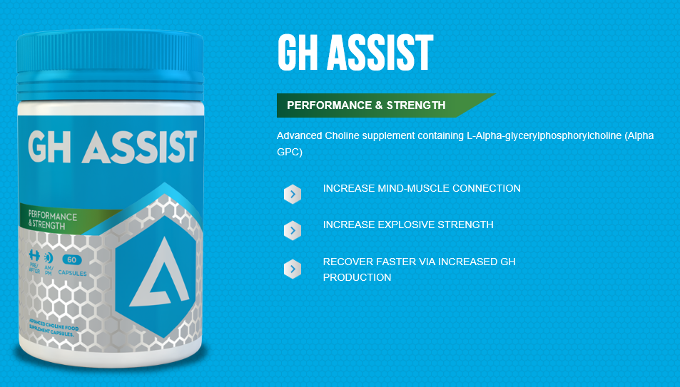 Adapt Nutrition GH Assist Key Features and Benefits