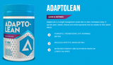 Adapt Nutrition Adaptolean Product Highlights and Benefits