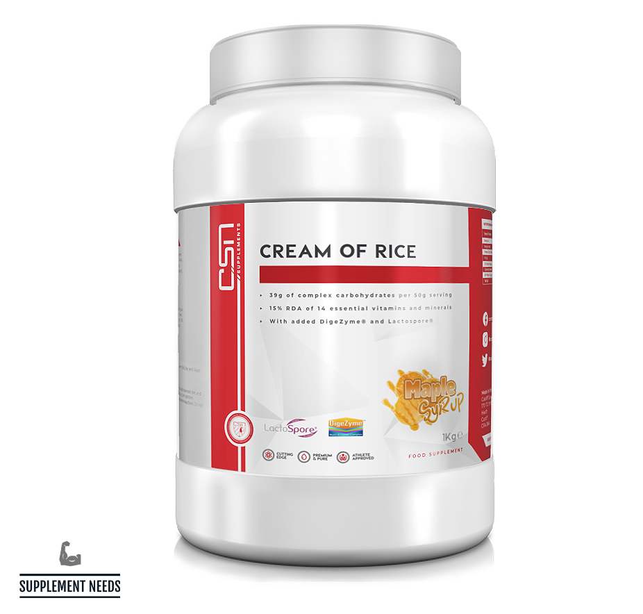 CSN Supplements Cream of Rice - 1kg