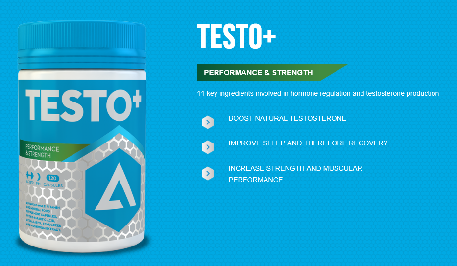Adapt Nutrition Testo+ Product Highlights and Benefits