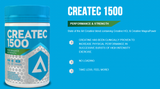 Adapt Nutrition Createc 1500 Product Highlights
