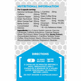 Adapt Nutrition Adaptolean Nutrition Information and Dosage