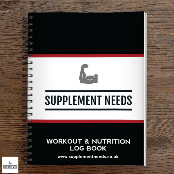 Workout and Nutrition Logbook by Supplement Needs