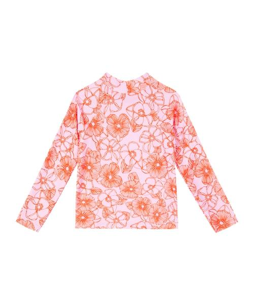 Lil Raffy Rashie | Pink Orange Floral