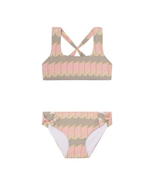 Lil' Benny Set | Pink and Lime Wave