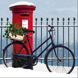 Charity Christmas Cards (ALM7174) - Bike 'n' Box - In Aid of Multiple Scleros...