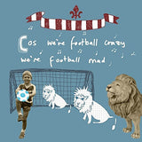 Three Lions Football Card - Football Crazy