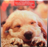 Pack of 6 CHARITY Golden Retriever Puppy dog Christmas Cards