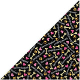 100% Cotton Dog Bandana German Shepherd neck scarf Black