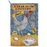 "Emma Bridgewater - Matthew Rice "" A Year in the Country"" Tea Towel NEW W..."